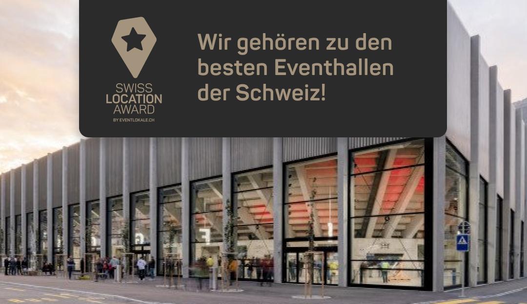 Lonza Arena gehört offiziell zu den besten Eventhallen der Schweiz